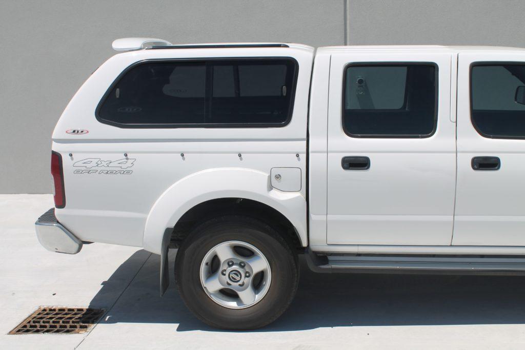 ... NISSAN D22 (5)-min ... & Nissan Navara Canopy - Installed in Perth Western Australia