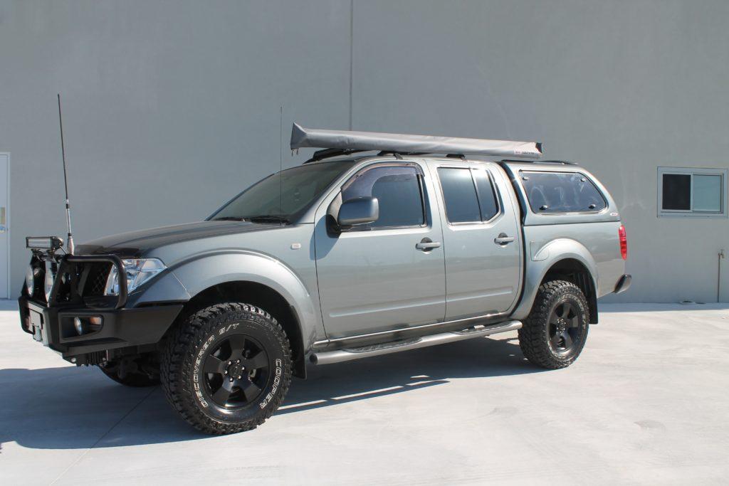... NISSAN D40 (3)-min ... & Nissan Navara Canopy - Installed in Perth Western Australia