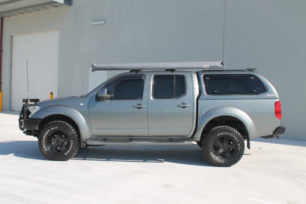 ... NISSAN D40-min ... & Nissan Navara Canopy - Installed in Perth Western Australia
