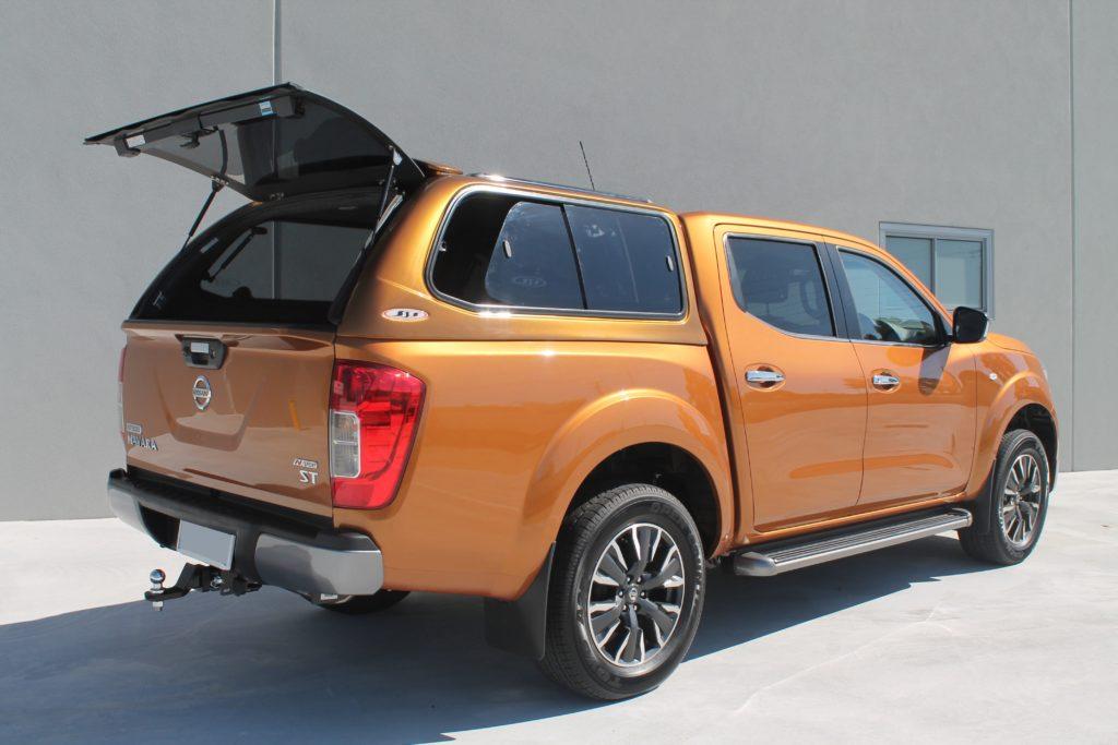 Volkswagen Amarok 2017 >> Nissan Navara Canopy - Installed in Perth Western Australia