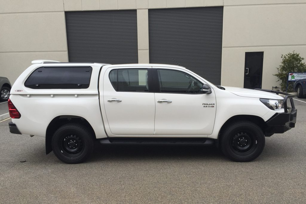 Toyota Hilux Canopy Supplied And Installed In Perth