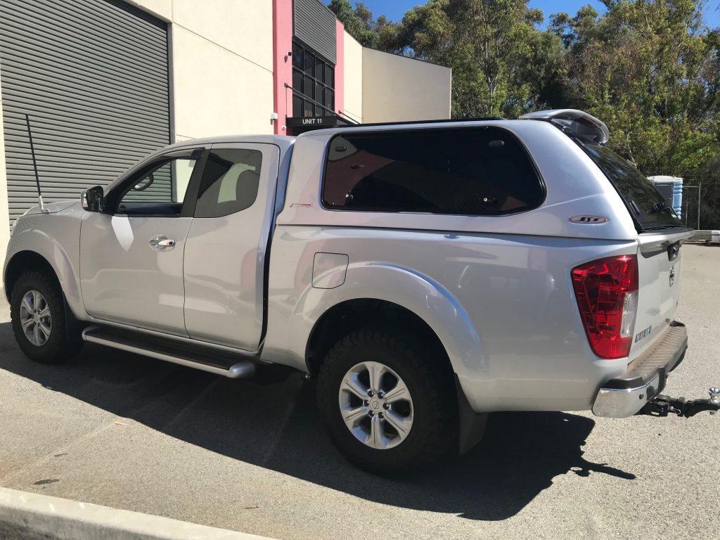 Nissan Navara Canopy Installed In Perth Western Australia