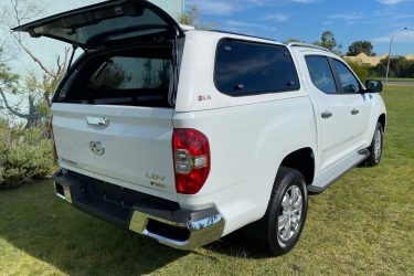 LDV Canopy White Open Rear Door